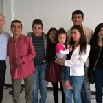Young Colombians who have been called to missions