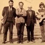 Open Air Mission, Rhyl, N Wales c. 1972. (l to r) Clive Williams, Ivan Malyon, Freddie Walters, Gareth Bolton