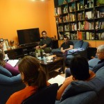 A Bible study in the home of Sladjan Milencović, Director of HUB (Belgrade Bible School), SERBIA