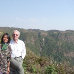 The spectacular hills of Meghalaya in NE India