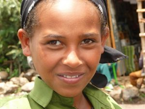 2016 May Ethiopian girl
