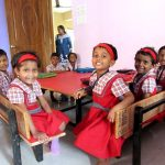 ..…….and here are some of the 'Tender Heart' children in the new AMEN 'Hope Centre' building, INDIA