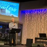 Preaching at New Hope Christian Ministries in Placentia, California, USA