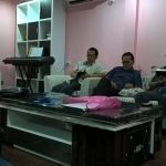 One of the men had spent almost a year in prison for engaging in evangelism and distributing Bibles